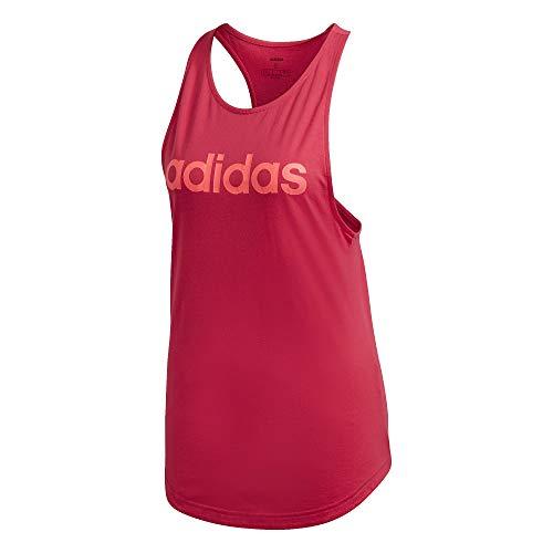 adidas Linear - Canotta da donna, Colore: rosa., S