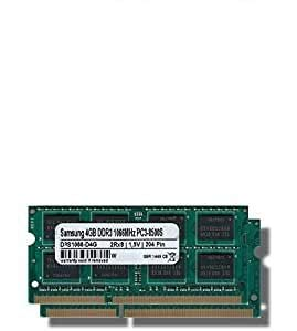 Samsung 8 GB (2 x 4 GB) Dual-channel Kit DDR3 1066 mhz...