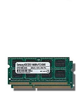 Samsung 8 GB (2 X 4 GB) Dual-Channel Kit DDR3 1066 Mhz (PC3 8500S) SO DIMM De Memoria RAM