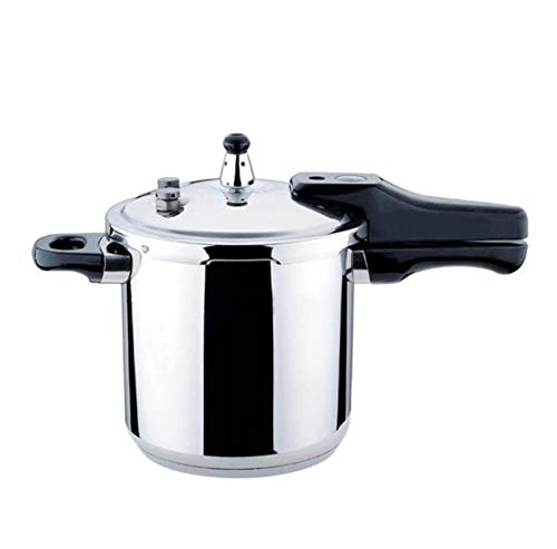 CYXZLOOK 304 Edelstahl Pressure Cooker, 10L große Kapazitäts Slow Cooker Suppentopf, Wohn Double Bottom Gasherd Cooker Pressure Cooker Sofort Pot