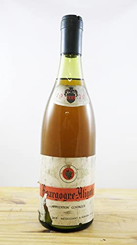 Wein Jahrgang 1970 Bourgogne-Aligoté Mâcon Flasche