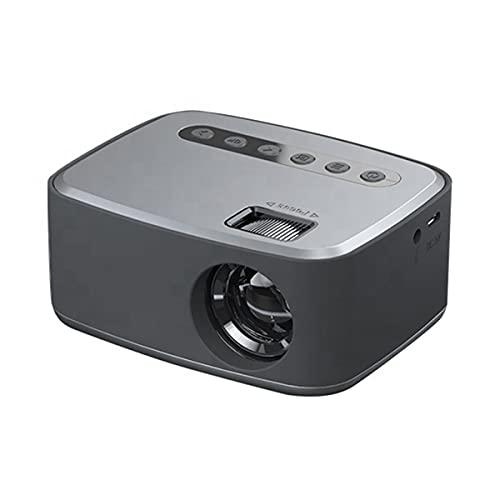 EXEDSCEND Mini proyector WiFi con Pantalla de proyección, proyector de duplicación inalámbrica 1080p HD Proyector portátil para el hogar, profesiona Compatible Smartphone,FOR US