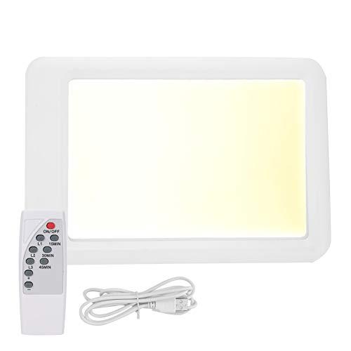 𝐂𝐡𝐫𝐢𝐬𝐭𝐦𝐚𝐬 𝐂𝐚𝐫𝐧𝐢𝒗𝐚𝐥 Blendfreie LED-Lichttherapielampe, 3-Farben-Lichttherapielampe 35000LX`, Einstellung der Tageslichtlampe für das Home Office(With remote control)