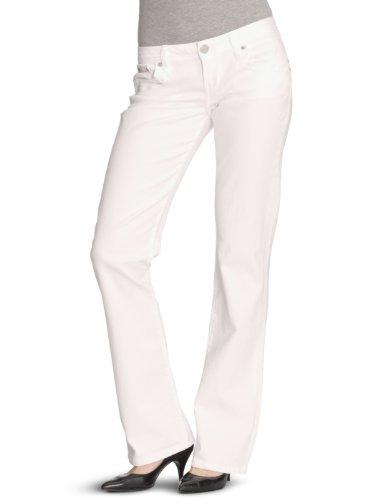 LTB Jeans Damen Jeanshose/ Lang 5145 / Valerie, Gr. 28/32, Weiß (white 100)
