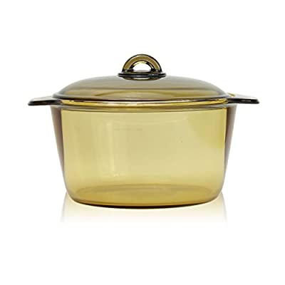 Luminarc France Amberline Blooming Heat-resistant Glass Casserole Cooking Pot (5L)