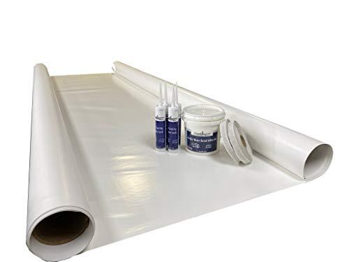 classAcustoms Sure-Flex PVC RV Rubber Roof Kit 9.5' X 15' Complete Kit