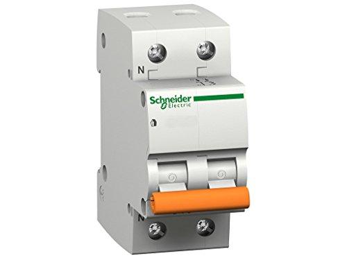 Schneider Electric-Interruttore automatico 12509 magnetotérmico Domae 6 kA 1P N. C 16 A curva