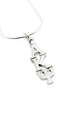 The Collegiate Standard Alpha Kappa Psi (AKPsi) Fraternity Sterling Silver Lavaliere