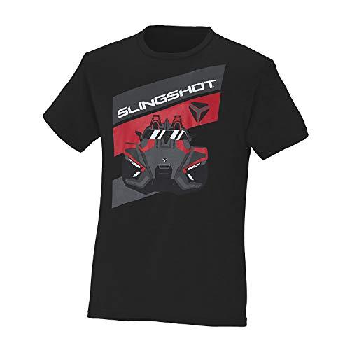 Polaris Slingshot Men's Short-Sleeve Adventure T-Shirt, Black - XL