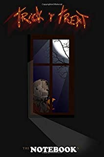 Notebook: Trick R Treat , Journal for Writing, College Ruled Size 6