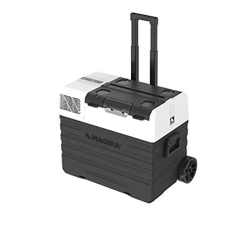MAGIRA Canada 62 Liter Kompressor-Kühlbox 12/24V und 230V MF62-CA elektrischer Mini-Kühlschrank für Camping, Auto oder LKW mit Steckdose und USB-Anschluss