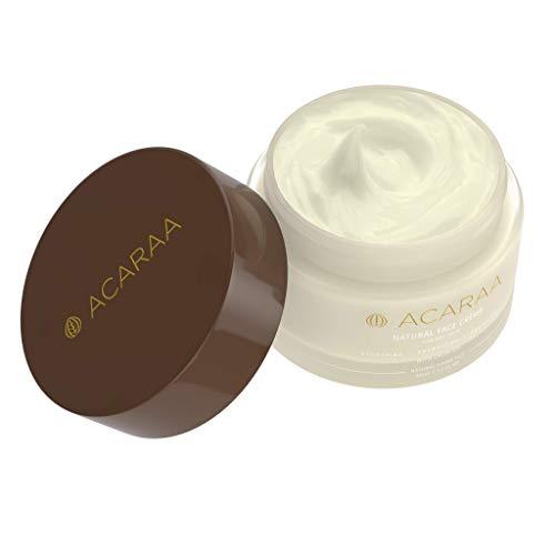 ACARAA Intensive Feuchtigkeits-Creme Für Das Gesicht, Vegane Gesichtscreme Für Trockene Und...