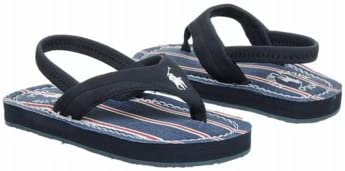 Polo by Ralph Lauren Terrence Thong Sandal (Toddler/Little Kid/Big Kid)