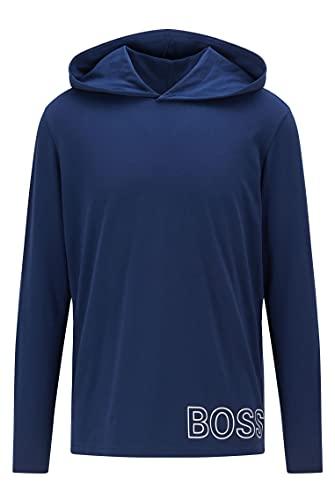 BOSS Identity LS-Shirt H. Camiseta de Manga Larga, Medium Blue424, L para Hombre