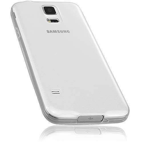 mumbi Hülle kompatibel mit Samsung Galaxy S5 / S5 Neo Handy Case Handyhülle, transparent