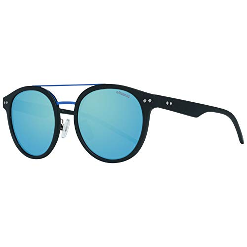 Polaroid Unisex-Erwachsene PLD-6031-F-S-003-52-5X Sonnenbrille, Schwarz (Negro), 52.0