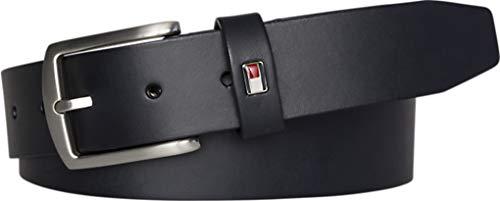 Tommy Hilfiger Herren Gürtel New Denton 3.5 Belt Leder 100cm Blau E3578A1208