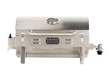 Masterbuilt SH19030819 Propane Tabletop Grill 1 Burner Stainless Steel
