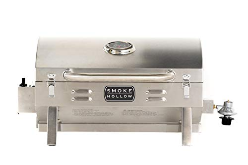 Amazon:Masterbuilt SH19030819 Propane Tabletop Grill, 1 Burner, Stainless Steel $82.53