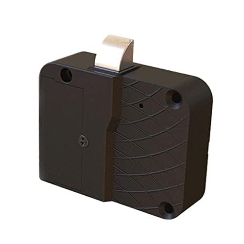 Amagogo Cerradura inteligente con apertura inteligente con tarjeta RFID, resistente a la resistencia, gabinete invisible, para dispositivos de seguridad,