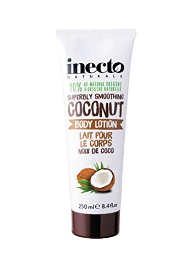 Inecto Naturals Coconut Body Lotion, 1er Pack (1 x 250 ml)