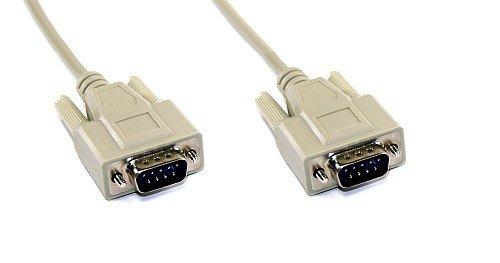 InLine 12213 Serielles Kabel, 9pol Stecker / Stecker, vergossen, 1:1 belegt, 3m