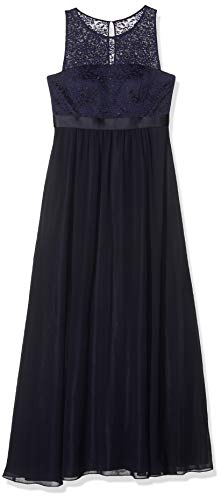 Vera Mont VM Damen 0014/4825 Kleid, Blau (Night Sky 8541), 40