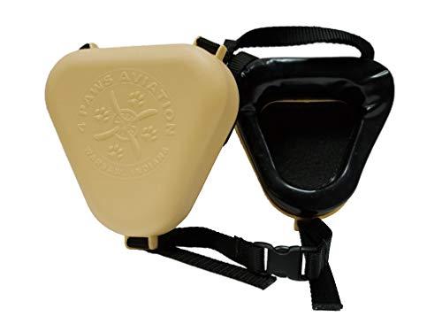 4 Paws Aviation K-9 Ear Muffs (Small, Black)