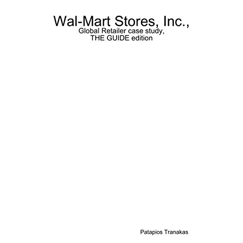 Wal-Mart Stores, Inc.: Global Retailer Case Study audiobook cover art