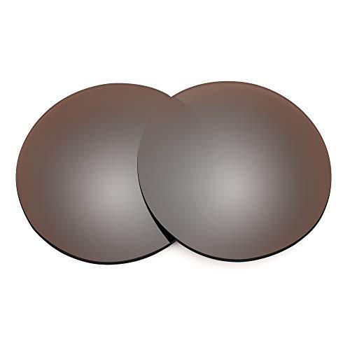 Revant Lentes de Repuesto Compatibles con Gafas de Sol Ray-Ban Clubround RB4246 51mm, No Polarizados, Bronce MirrorShield