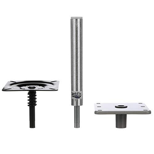 Attwood 97749-7 Swivl-Eze Lock'N-Pin ¾-Inch Pedestal Package