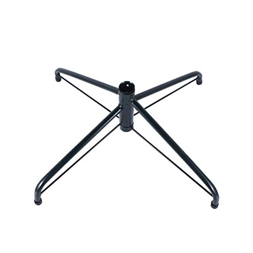 Holibanna Supporto per Albero Pieghevole Supporto in Metallo per Albero di Natale in Ferro (45cm Verde nerastro)