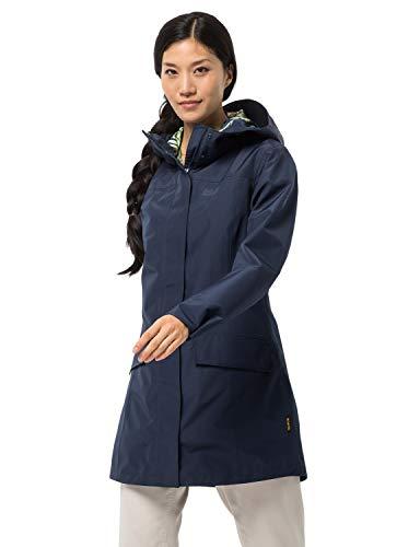 Jack Wolfskin Damen Cape York Paradise Coat W Jacke, Midnight Blue, M