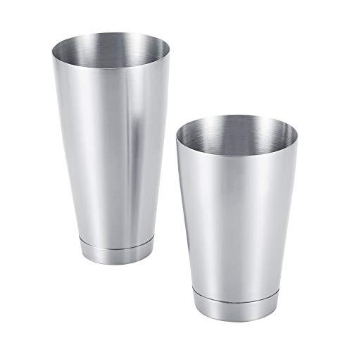 Cocktailshaker-set, keukengereedschap-cocktailmixer, Boston-shaker, feest voor thuis voor bar(Stainless steel primary…