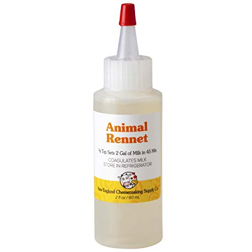 Liquid Rennet - Animal Rennet for Cheese Making (2oz)