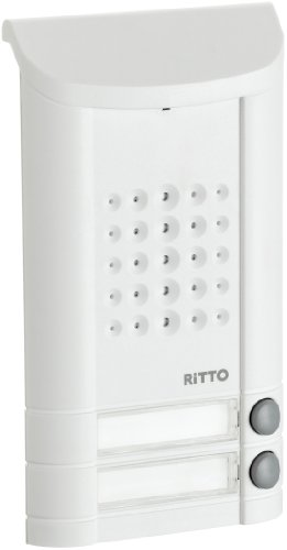 Ritto 1271042 Minivox Türstation (2 Tasten) weiss
