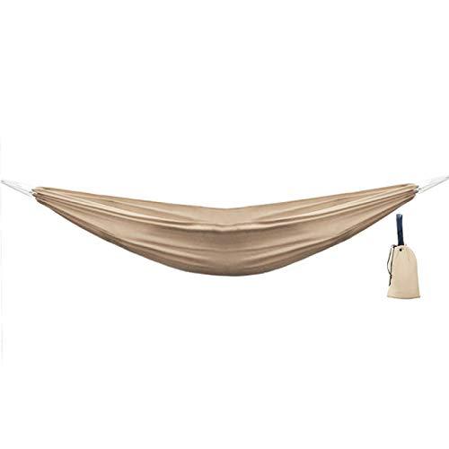 MHBY Hamaca, Hamaca Que acampa, Columpio Colgante al Aire Libre, Cama para Dormir para Viajar con Mochila