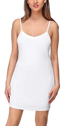 Merry Style Combinación Vestido Interior Mujer MS10-315 (Blanco, XL)
