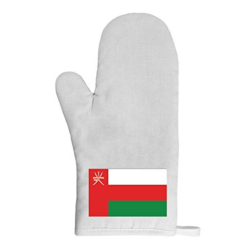 Mygoodprice Ofenhandschuh Topflappen Flagge Oman