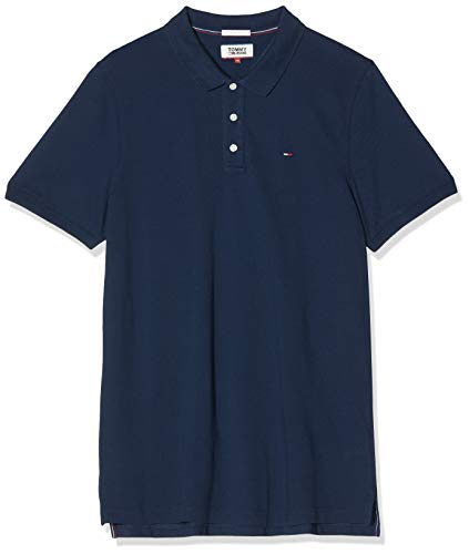 Tommy Jeans heren polo Original Fine Pique