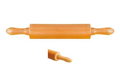 Rolo De Madeira Para Massa 43cm x 5,8cm - Stolf