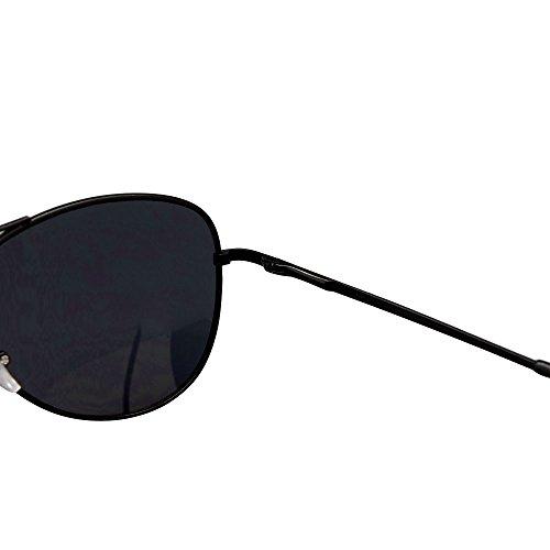 ASVP Shop® Black Polarised Sunglasses & Cloth Case Uv400 Designer Men's Ladies Shades