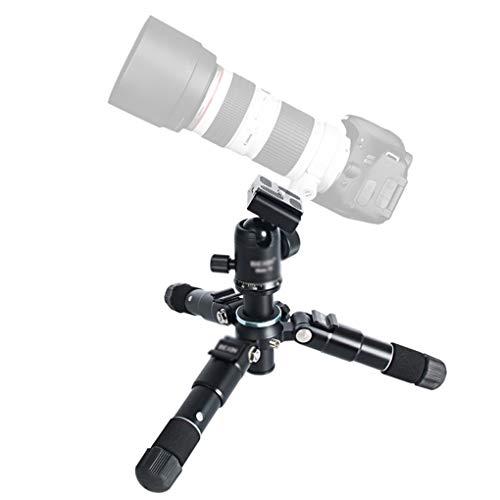 RUIXFLR Souple Kit Trépied Photo National Geographic Petit, Dégagement Rapide, écarteur De Niveau Intermédiaire, Aluminium, pour Canon, Nikon, Sony Stabilité