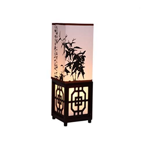 Standleuchten Stehleuchte Moderne Stehlampe Neue Chinesische Massivholz Stehlampe Tischlampe Nachttischlampe Wohnzimmer Studie Schlafzimmer Lampe Chinesischen Stil Klassische Dimmen Beleuchtung Stehla