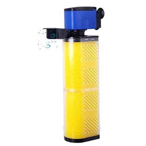 L@LILI Filtre d'aquarium intégré Filtre Mute Trois-en-Un Filtre de pompage d'aquarium Pompe d'aération, 101,103