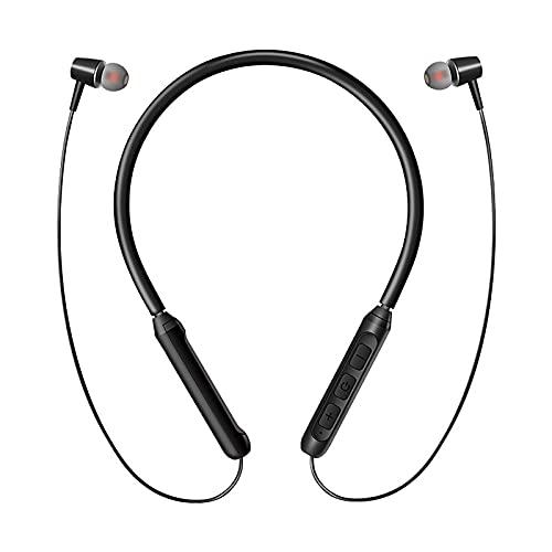 Auriculares inalámbricos sin pérdidas auriculares banda para el cuello Auriculares de baja latencia Auriculares de banda para el cuello Negro