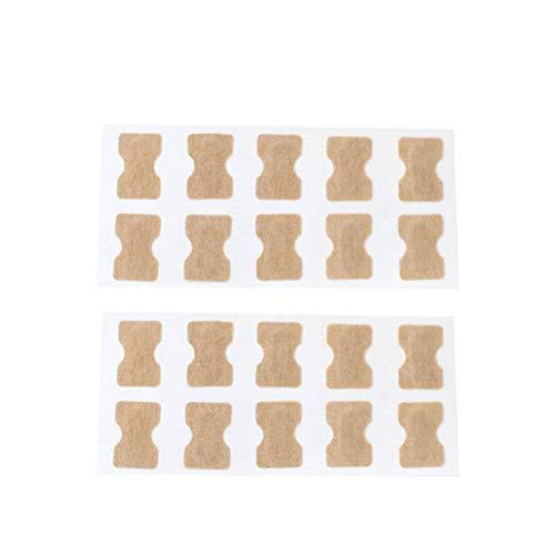 EXCEART 2 Ensembles Autocollant D'ongle Incarné Orteil sans Colle Fichier de Correction D'ongle Patch Correcteur de Paronychie Soin Des Pieds Traitement Outil de Pédicure