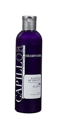 Shampoing raviveur platine - shampoing bleu dejaunissant blond et platine - sans silicone