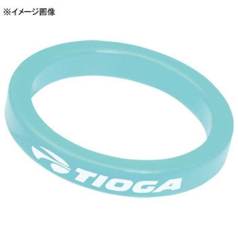 TIOGA(タイオガ) HDW01902 アルミ スペーサー ライトブルー 10mm HDW01902