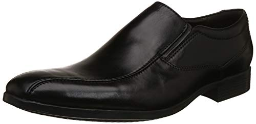 Clarks Men Conwell Step Black Leather Formal Shoes-8...